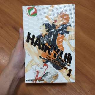 HAIKYUU VOLUME 1