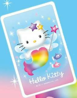 🚚 二代 2代 icash 2.0 感應卡 Hello Kitty -七彩美人魚icash2