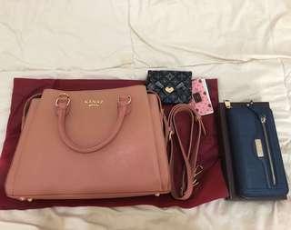 專櫃包包,母親節特賣送韓國皮夾
