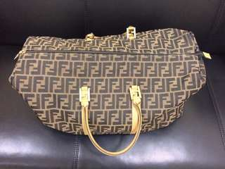 Authentic Fendi Keepall Travelling Bag