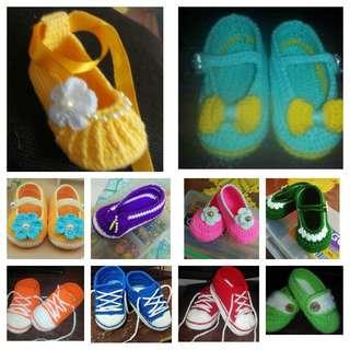 Crochet Babies Shoes