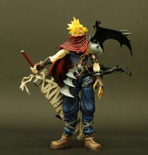 Kingdom Hearts Final Fantasy Playarts Figure Vol.2 Cloud w Box