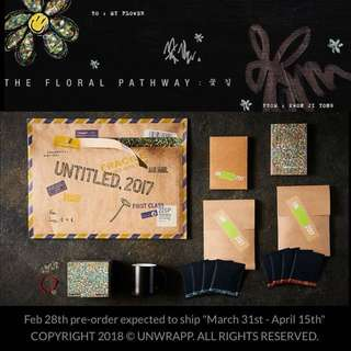 GD 權志龍 The Floral Pathway 入伍禮物
