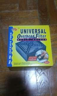 Universal overhead filter