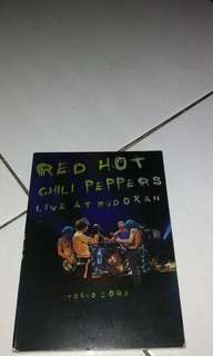 Dijual dvd film original konser red hot chili peppers