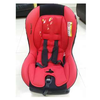 Baby Car Seat - Sweat Cherry