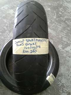 Tauar secondhand Dunlop sportmax roadsmart 160/60