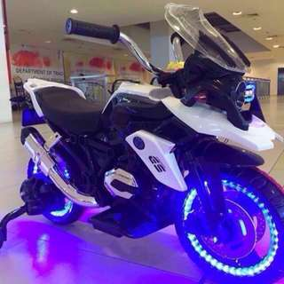 GS 1200 Mini Big Bike For Kids Toy in White Rechargeable Motorcycle