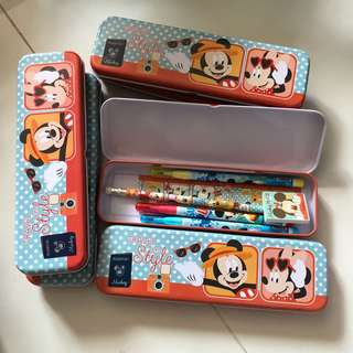 6 Mickey stationary set