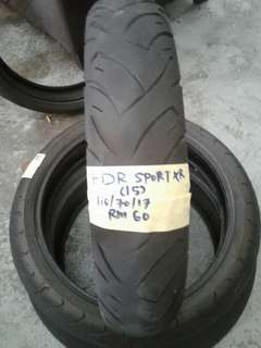 Fdr sport xr tayar secondhand 110/70
