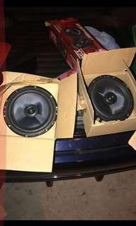 2 component speaker