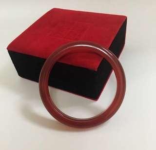 瑪瑙手鈪Red Agate Bangle