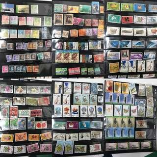 香港郵票(圖內全部共$300