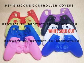 PS4 Silicone Controller Covers