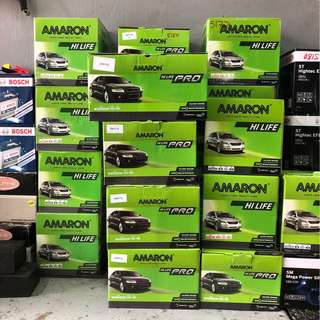 **2018 Mega Sale** Amaron/Bosch/Rocket/Atlas/GS Battery for sale!