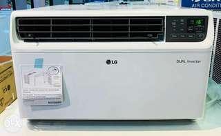 Brand New LG 1hp LA100VC Window-type DUAL Inverter Aircon (2018 Model)