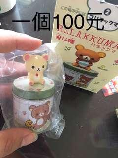 🚚 全新 日本正貨 景品 盒玩 食玩 拉拉熊 牛奶妹