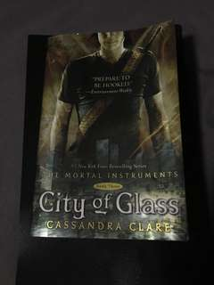 City of glass mortal instrument book #3
