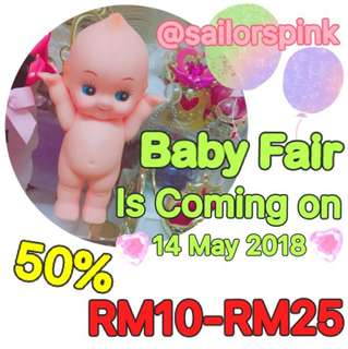 Baby Fair is coming on 14May2018