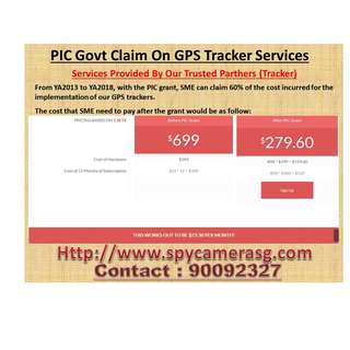 GPS tracker uses by Govt Grant