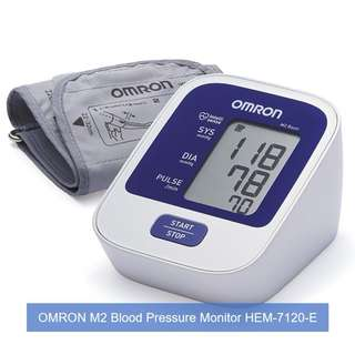 [May Day Promotion] OMRON Healthcare M2 Basic Automatic Blood Pressure Monitor and FREE SAME DAY DOORSTEP DELIVERY at S$65!