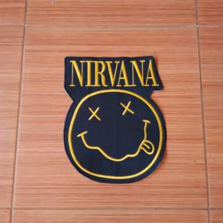 Backpatch Bordir Nirvana