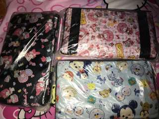 Cartoon travel bags