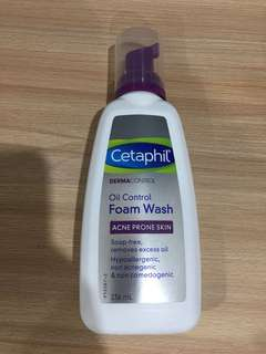 Cetaphil acne foam cleanser