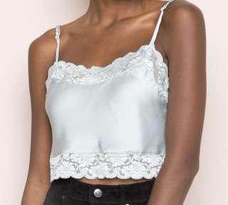 Brandy Melville Silk Top