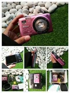 Nikon coolpix s2700 pink