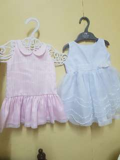Baptismal Set and Baby dress