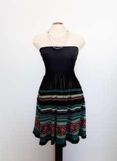 Free People | Smocked Strapless Dress