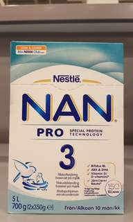 Nan 3 Pro from Finland (Age: 10mths & above)
