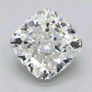 1ct F/vvs GIA cushion diamond (loose)