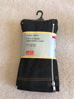 Uniqlo Denim Like Leggings