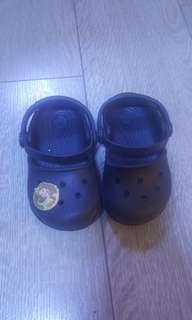 CROCS mary jane in black