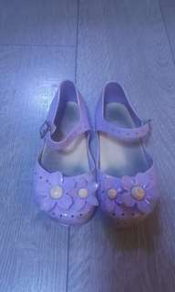 Mini melissa lavander shoes