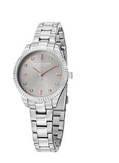 "Sturling Original Women's 607L.03 ""Symphony Allure"" Stainless Steel Watch with Diamonds"