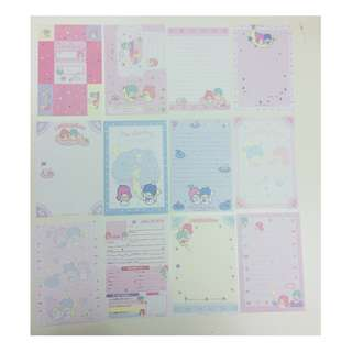 Little Twin Stars letter paper memo paper 小信紙 文具控