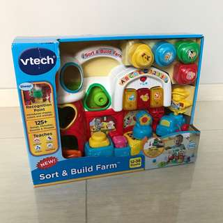 Free Delivery Brand New VTech Sort & Build Farm
