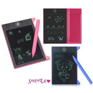 [BRAND NEW] MINI 4.4inch Ultra-Thin LCD Writing Drawing Sketching Doodling Scribbling Board