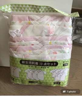 初生嬰兒和尚袍10件set