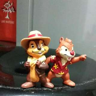 Chip And Dale Disney TV - PVC Figures (Europe Release)
