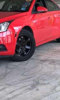 "17"" rota wheels"