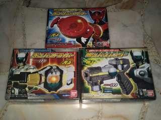 Bandai 2011 Candy Toy: Masked Rider Kamen Rider OOO & Birth Weapon Set