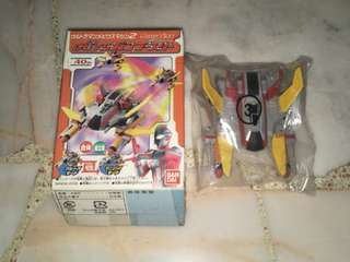 Bandai 2006 Candy Toy: Ultraman Mebius GUYS Spaceship No.3