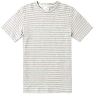 NORSE PROJECTS JAMES BRUSHED COTTON T-SHIRT (ECRU) XS