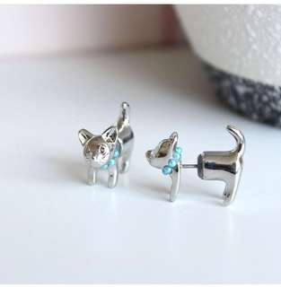 Cat Lover Earring New/tag