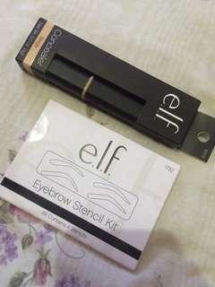 ELF Bundle Concealer and EYEBROW STENCIL