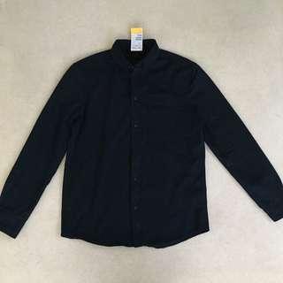 💯New H&M Black Polo (size MEDIUM)